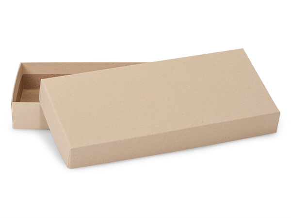 """Brown Kraft Mailing Boxes, 8 x 3.5 x 1"""", 100 Pack"""