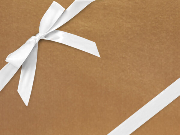 """Copper Gift Wrapping Paper 26"""" x 833', Full Ream Roll"""