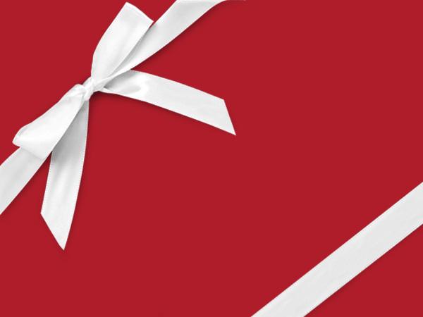 """Red Velvet  24"""" x 833' Full Ream Roll Gift Wrap"""