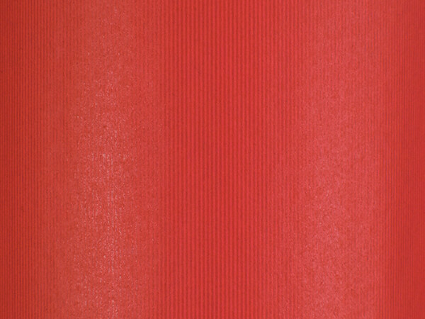 """Groove Stripe Really Red Wrapping Paper, 30"""" x 417', Half Ream Roll"""