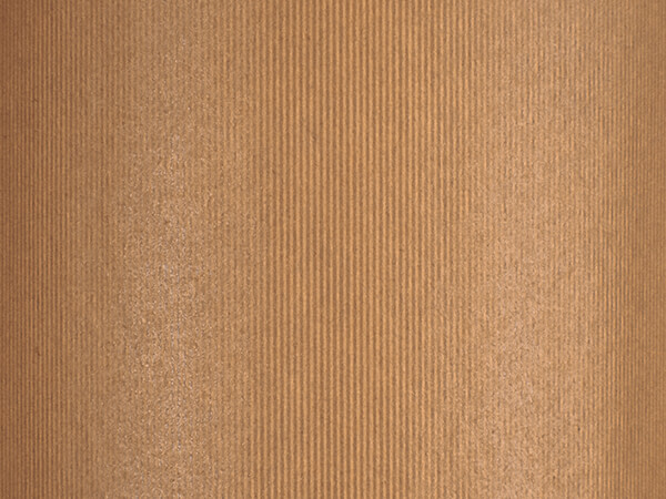 """Groove Stripe Natural Wrapping Paper, 30"""" x 417', Half Ream Roll"""