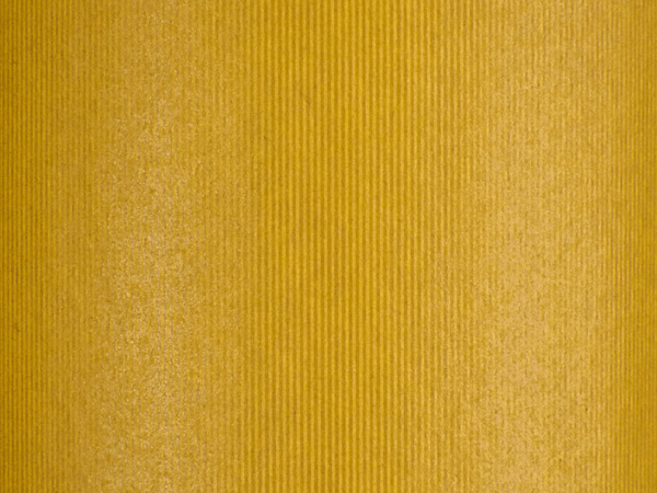"""Groove Stripe Yellow Wrapping Paper, 30"""" x 417', Half Ream Roll"""