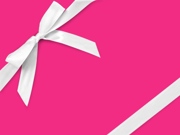 "Magenta  18"" x 417' Half Ream Roll Gift Wrap"