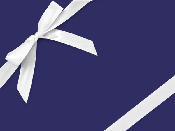 """Sapphire Blue Wrapping Paper 24"""" x 417', Half Ream Roll"""