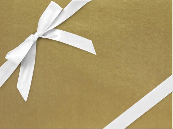 "Antique Gold Kraft  24"" x 417' Half Ream Gift Wrap (Kraft)"