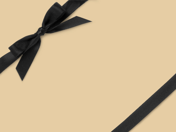 "Cornsilk  24"" x 417' Half Ream Roll Gift Wrap"