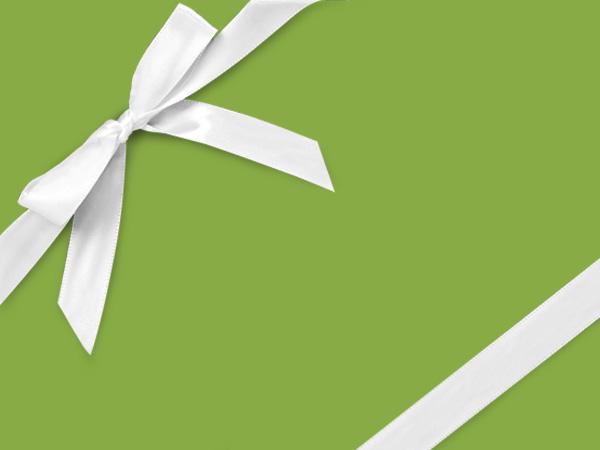 """Lime Green Velvet Touch Gift Wrap 26"""" x 417', Half Ream Roll"""