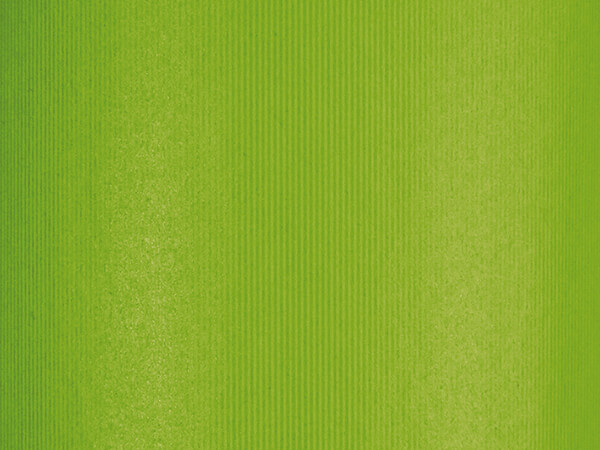 """Groove Stripe Apple Green Wrapping Paper, 24"""" x 417', Half Ream Roll"""