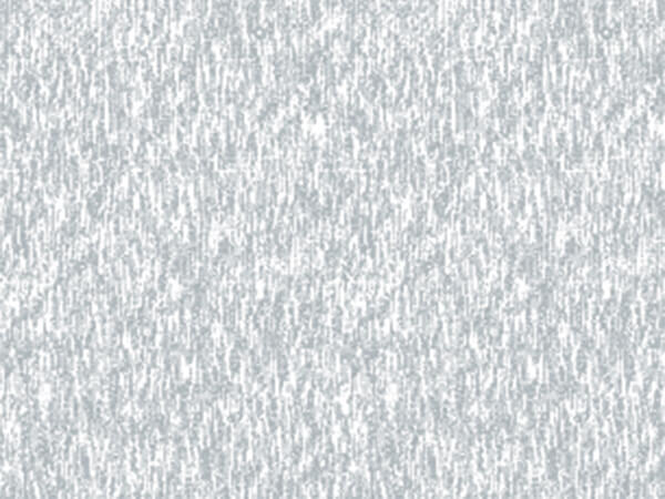 "Embossed Brushed Silver 26"" x 833' Full Ream Gift Wrap (Foil)"