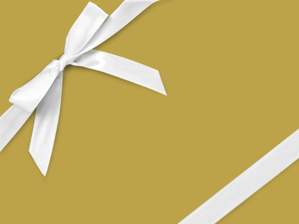 "Gold  24"" x 417' Half Ream Roll Gift Wrap"