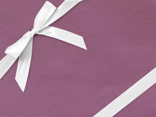 """Soft Purple Velvet 24"""" x 417' Half Ream Roll Gift Wrap"""