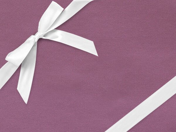 "Soft Purple Velvet Wrapping Paper 30"" x 417', Half Ream Roll"