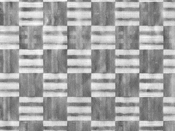 "Pale Silver Checkerboard 30""x417' Half Ream Embossed Gift Wrap (Foil)"