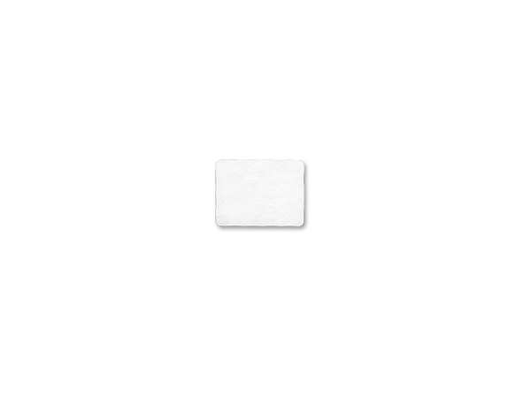 Instant Stik Removable Labels White Rectangle 1 x 3/4""