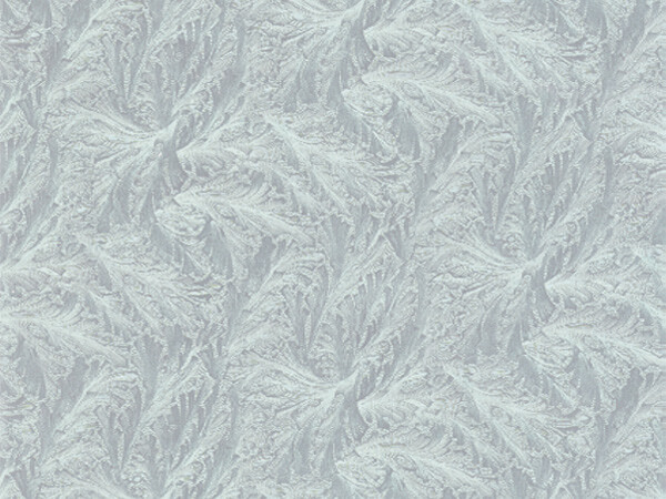"Pale Silver Feather  18""x833' Full Ream Embossed Gift Wrap (Foil)"