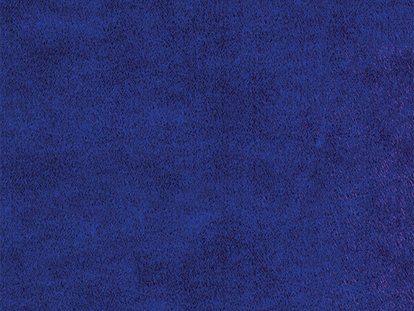 "Blue Embossed Silk 30"" x 833' Full Ream Gift Wrap (Foil)"