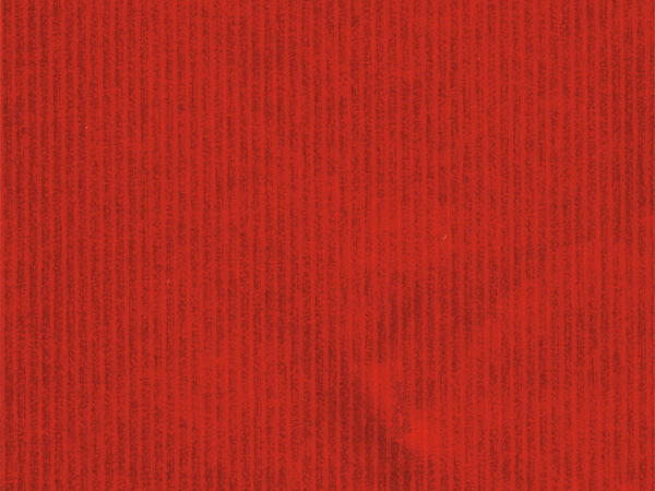 """Red Embossed Pinstripe 24"""" x 417' Half Ream Gift Wrap (Foil)"""