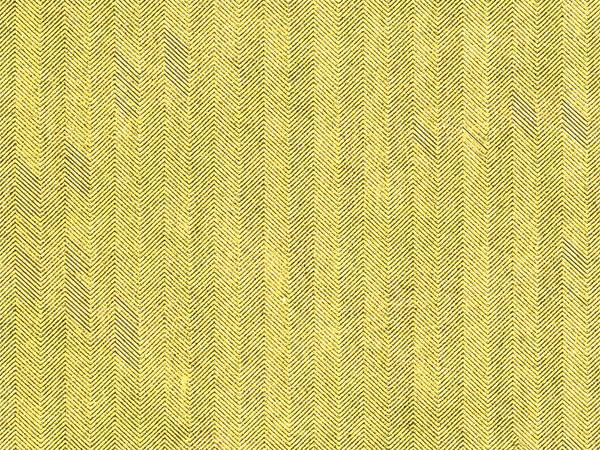 "Gold Embossed Herringbone 24""x 417' Half Ream Gift Wrap (Foil)"