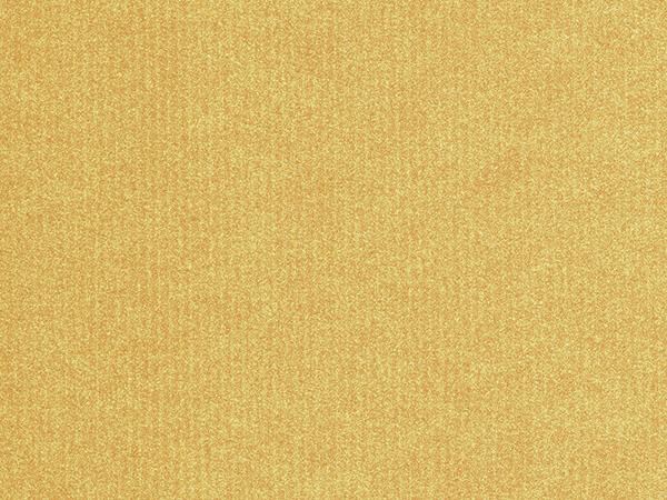 "Gold Embossed Pinstripe 24"" x 833' Full Ream Roll Gift Wrap"