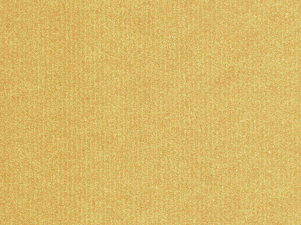 "Gold Embossed Pinstripe 26"" x 417' Half Ream Roll Gift Wrap"