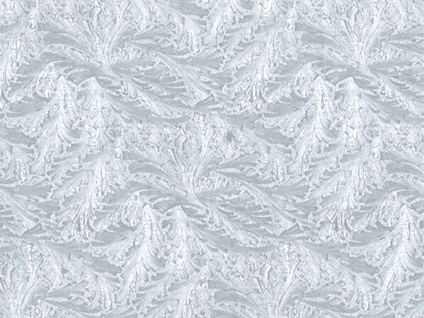 "Embossed Feather Pearl 24"" x 417' Half Ream Roll Gift Wrap"