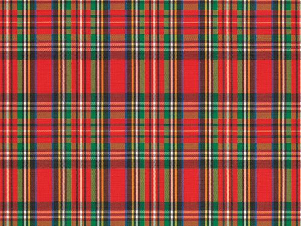 """Tartan Kilt  24"""" x 833' Full Ream Roll Gift Wrap"""