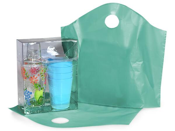 """Aqua Wave Top Plastic Bags, Medium18x15x6"""", 250 Pack, 2.25 mil"""