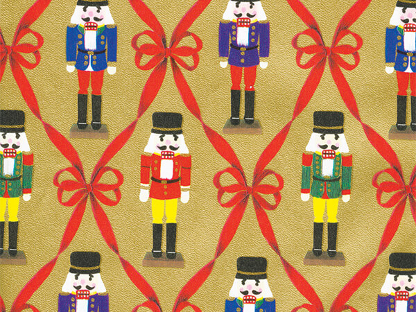 """Rib Soliders Wrapping Paper 24"""" x 833', Full Ream Roll"""