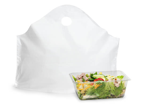 "White Wave Top Plastic Bags, 24x20x11"",  250 Pack, 1.5 mil"