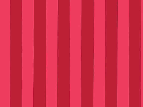 """Red Stripe Foil Wrapping Paper 26"""" x 417', Half Ream Roll"""