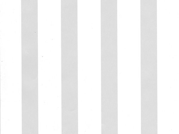 """Embossed Pearl Stripes  18"""" x 417' Half Ream Roll Gift Wrap"""