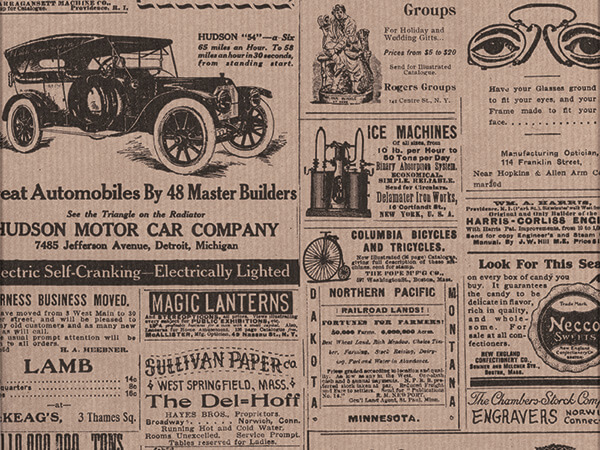 """Kraft Newsprint 26"""" x 833' Full Ream Roll Gift Wrap"""