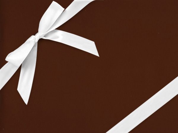 "Chocolate Chrome  30"" x 833' Full Ream Roll Gift Wrap"