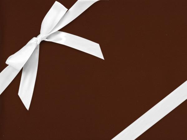 "Chocolate Chrome  26"" x 417' Half Ream Roll Gift Wrap"
