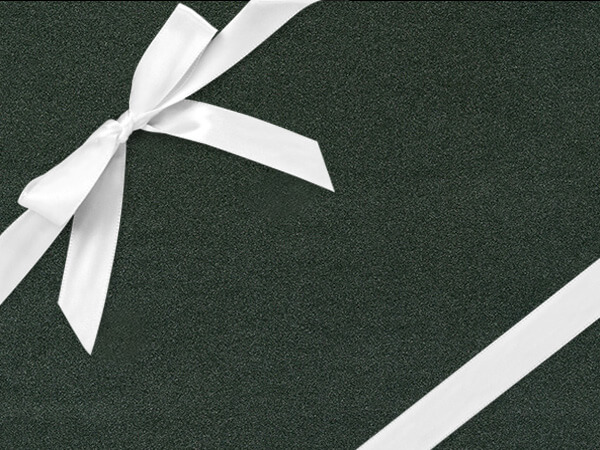 """Black Ore Gift Wrapping Paper 24"""" x 417', Half Ream Roll"""