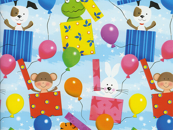 """Surprise!  18"""" x 833' Full Ream Roll Gift Wrap"""
