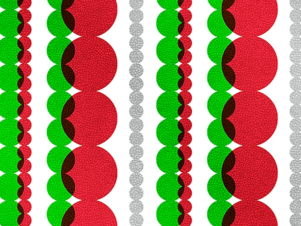 """Holiday Strands  24"""" x 417' Half Ream Gift Wrap (Metallized)"""
