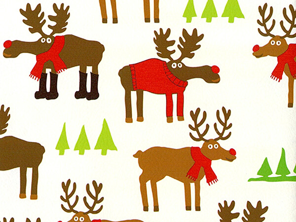"Herd It Was Xmas  24"" x 417' Half Ream Roll Gift Wrap"