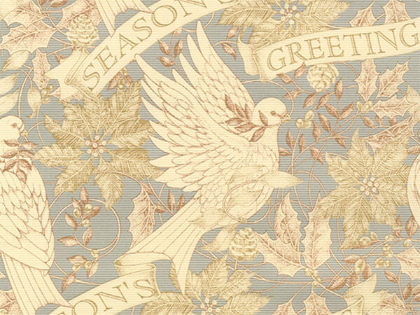 "Doves In Flight  30"" x 417' Half Ream Roll Gift Wrap"