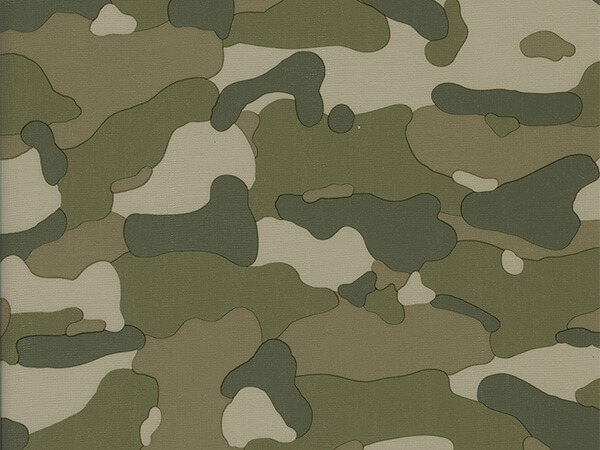 "Camouflage Wrapping Paper 30""x 833', Full Ream Roll"
