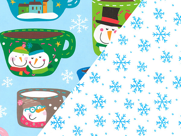 "Frosty Mugs/Alaska  18"" x 833' Full Ream Gift Wrap (Reversible)"