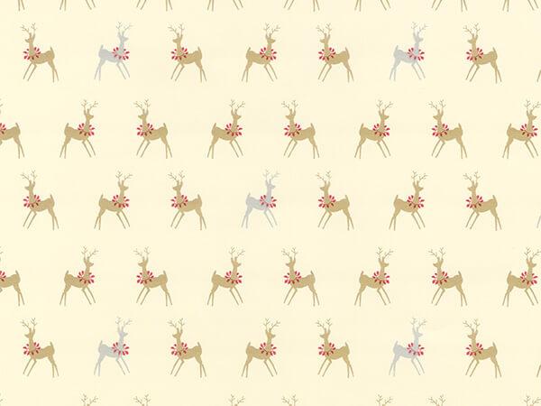 "Oh Deer  24"" x 417' Half Ream Roll Gift Wrap"