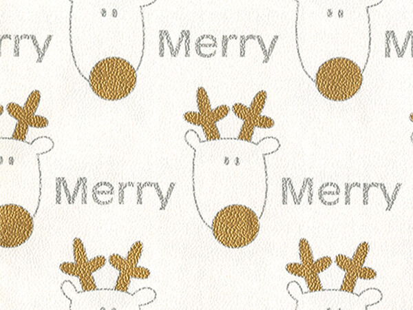 "Merry Reindeer  30"" x 833' Full Ream Roll Gift Wrap"