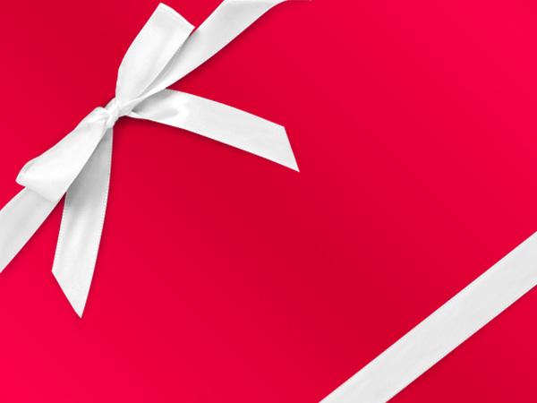 "Red Metal  24"" x 833' Full Ream Gift Wrap (Metallized)"