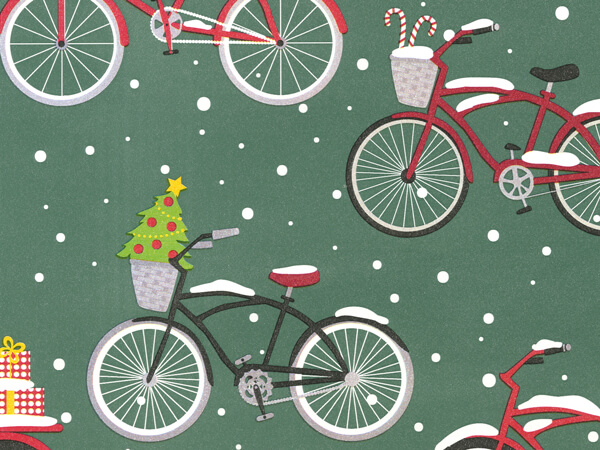 "Wheelie Old Fashioned Xmas 18"" x 41 Half Ream Roll Gift Wrap"