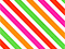 Neon Diagonal Stripe