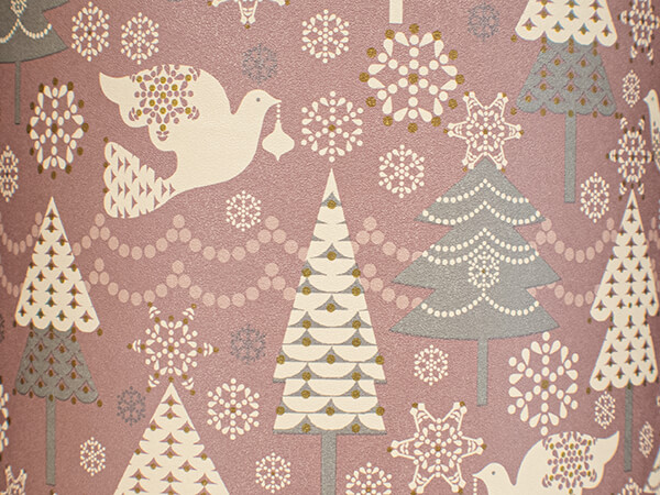 """Peace & Prosperity Wrapping Paper 30"""" x 417', Half Ream Roll"""