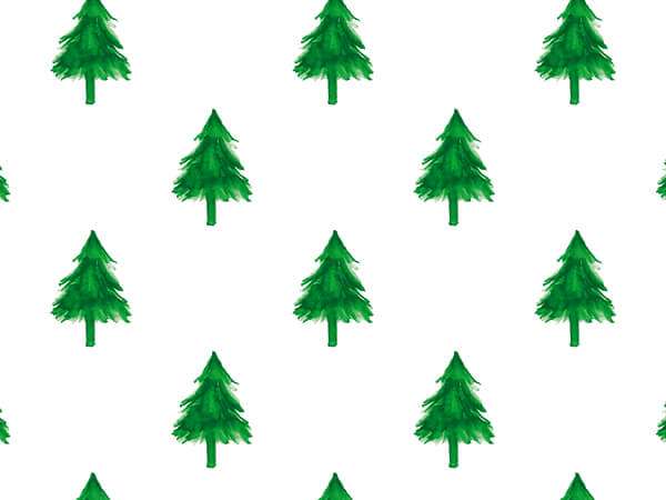 """Evergreens Wrapping Paper 24"""" x 417', Half Ream Roll"""