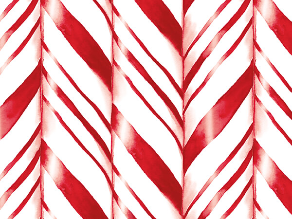 """Jumbo Candy Canes Wrapping Paper 24"""" x 417', Half Ream Roll"""
