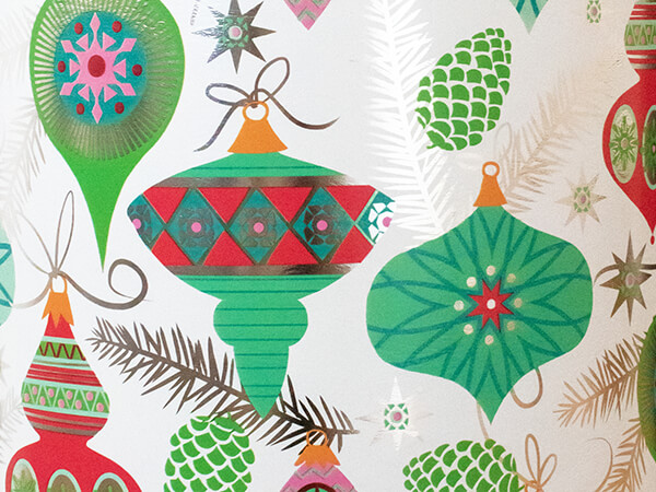 """Dainty Decorations Wrapping Paper 24"""" x 417', Half Ream Roll"""
